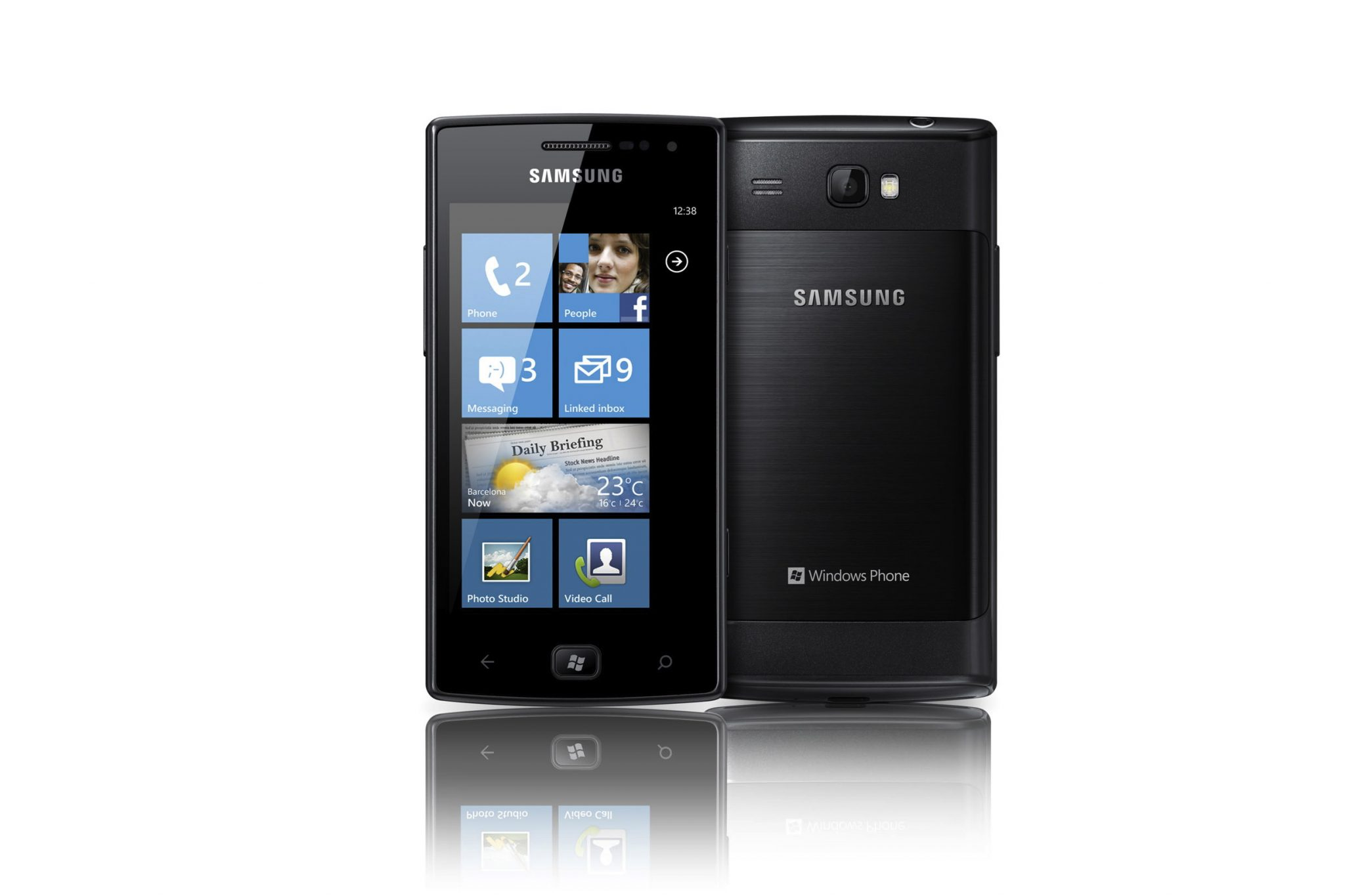 Samsung Omnia W, comme Windows Phone
